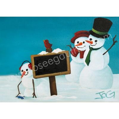 Tableau: Noël en Famille